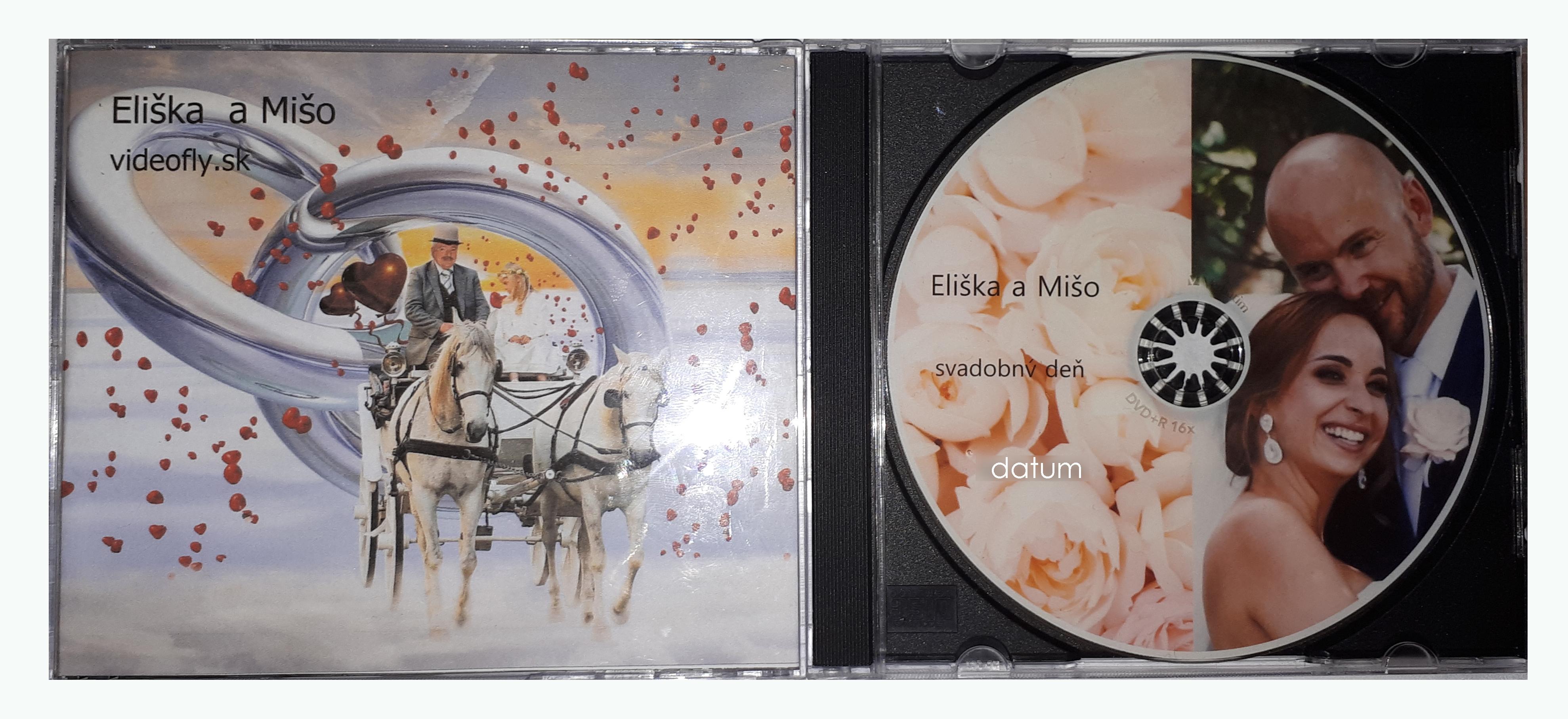 Takto vyzerá naše svadobné DVD