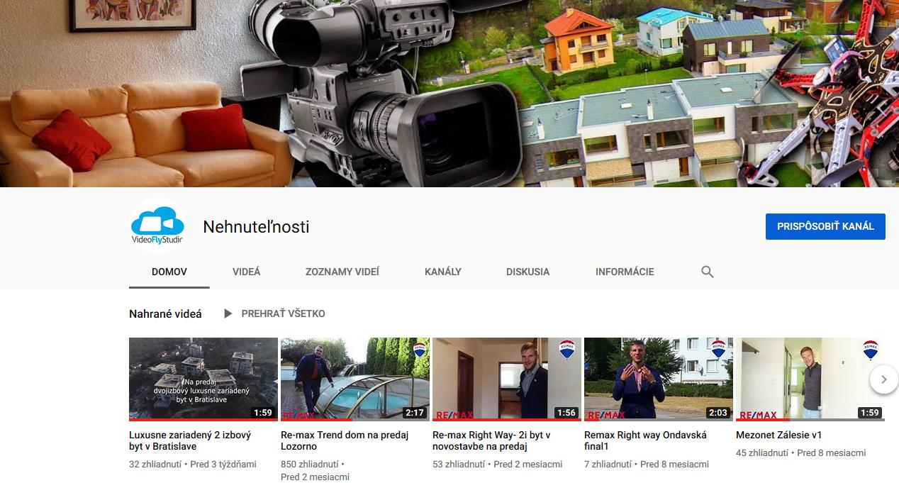 Kanál youtube NEHNUTELNOSTI