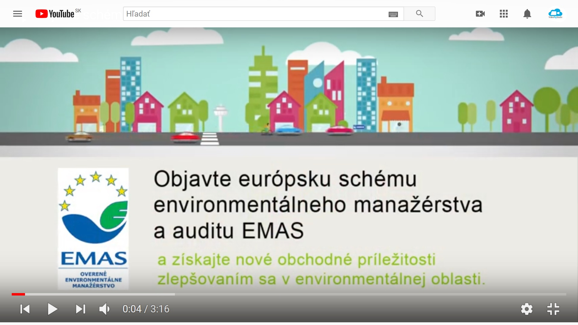 Jedno zo serie videí pre Slovenskú agentúru živ. prostredia